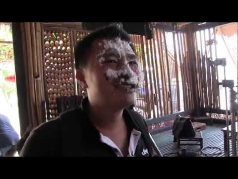 Sinh nhật Hiếu âm binh, quay phim My Nhan Ke ở Ngoc Sương, Cam Ranh
