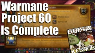 Warmane Lordaeron project 60 is complete