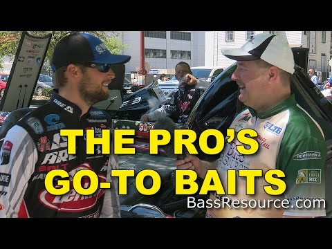 The Pros Go-To Baits When NOTHING Else Works | Bass Fishing