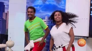 EBS  Fasika Special Show: Bekele Arega  - በቀለ አረጋ በፋሲካ ልዩ የበዓል ዝግጅት ላይ ሲዘፍን።