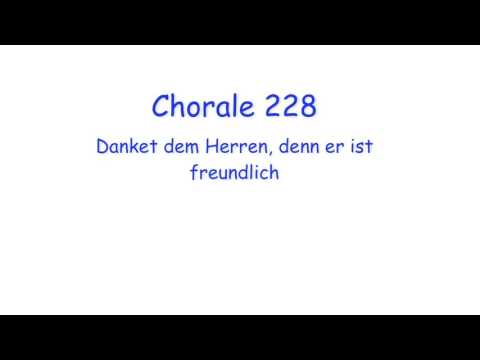 J. S. Bach's Chorales 1: Passing progressions and Voice exchange