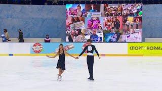 Произвольный танец Юниоры Танцы на льду Сочи Кубок России по фигурному катанию 2020 21
