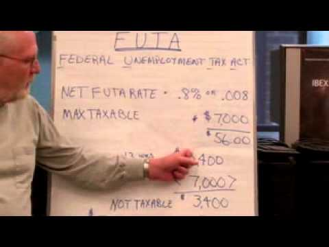 FUTA Tax Calculation