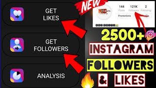 How To increase Instagram followers & likes every day 2019 | Get Free Instagram followers & likes🔥
