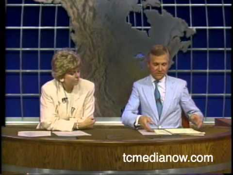 WCCO's Don Shelby and Pat Miles discuss the KARE name change 1985