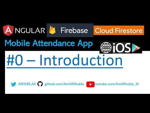 Mobile Picture GPS Tracking Attendance #0 - Angular Firebase App