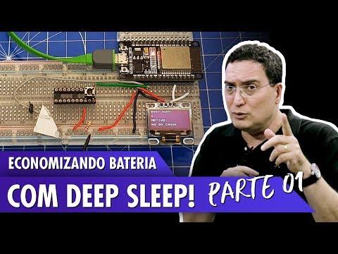 Economizando bateria com Deep Sleep!
