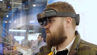 смотрю в будущее с HoloLens 2 - самый удивительный гаджет 2019... So far