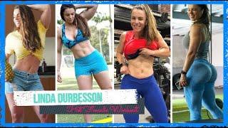 🏋️Linda Durbesson Training 😍 Female Fitness Motivation 🔥 Strong Muscular Women ✨✔️