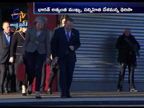 Britain's Theresa May In India On 3 Day Visit, to Meet PM Modi Today