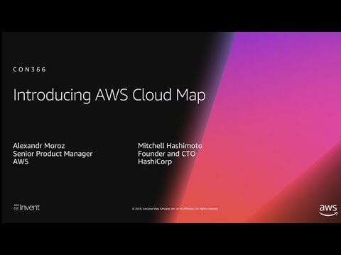 AWS re:Invent 2018: [NEW LAUNCH!] Introducing AWS Cloud Map (CON366)