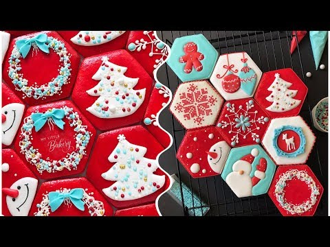 How to decorate Christmas cookies ❤️❄️❤️