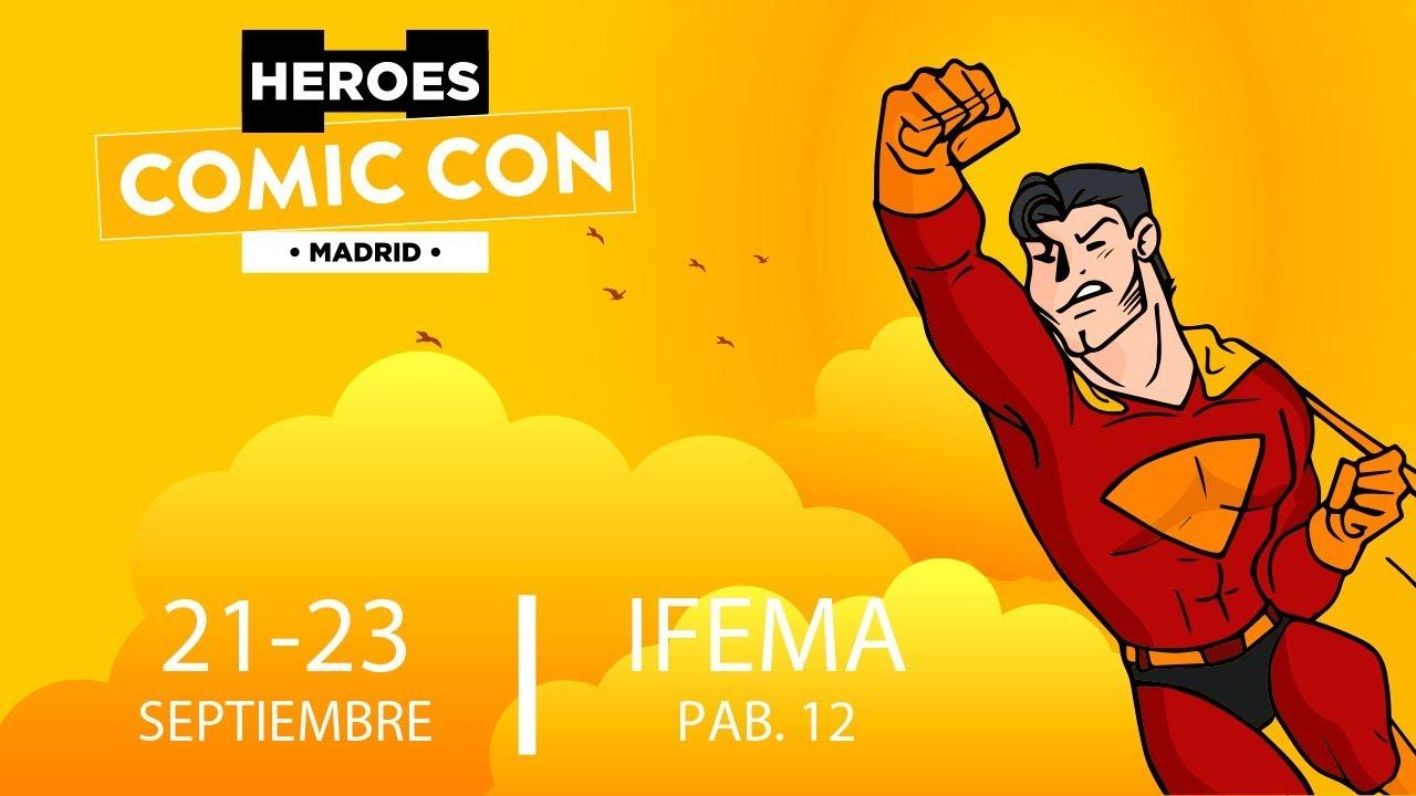 Resultado de imagen de heroes comic con 2018