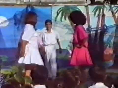 Fiesta de Primavera en el C.P. Quintanilla 1988