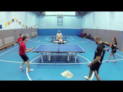 Table Tennis pairs - Herzliya Vs Beer sheva