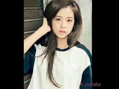 Jisoo in 5 different hair colors