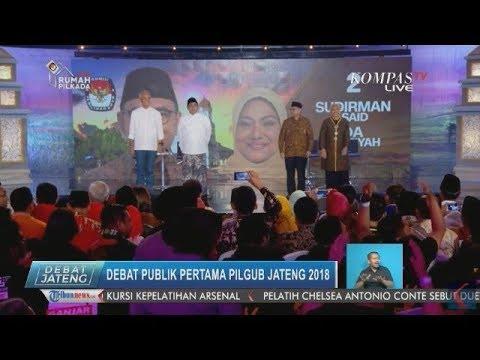 Debat Publik Pertama Pilgub Jateng 2018