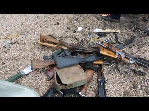 Kosova'da ruhsatsız silahlar imha edildi