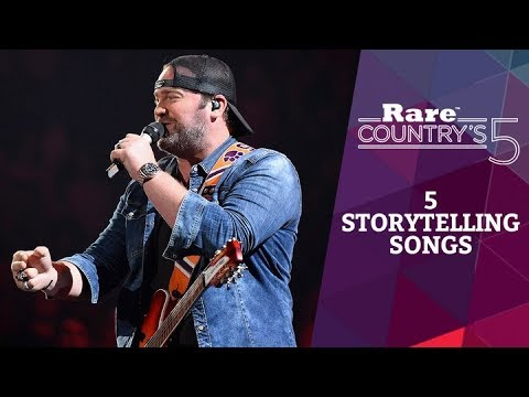 5 Storytelling Songs | Rare Country's 5