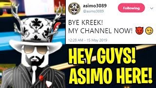 ASIMO3089 Took Over My Channel For A Day... (Roblox Jailbreak)