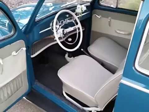 Exceptional 1964 Sea Blue VW Beetle Interior