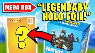Opening a FULL BOX of Fortnite Trading Cards (PART 2)