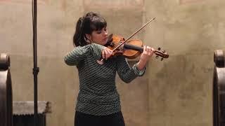 S. Prokofiev: Sonata for violin solo, D major, op.115, II. mvt