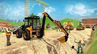 City Road Builder Construction Excavator Simulator (by Mizo Studio Inc) Android Gameplay [HD]