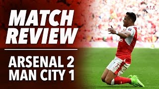 Arsenal 2-1 Manchester City | FA Cup | Match Review