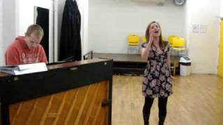 Nicola Henderson - Fly Away (Neverland) - Scott Alan - Rehearsal