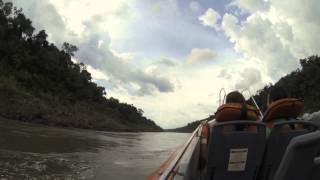 видео река Игуасу
