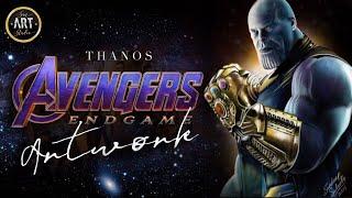THANOS | Avengers ENDGAMES Digital Painting 2019