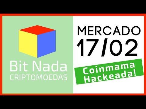 Mercado de Cripto! 17/02 Coinmama Hackeada! / Bitcoin usado como câmbio / Firefox