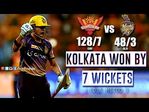KKR vs SRH 2017 Highlights | Kolkata Knight Riders vs Sunrisers Hyderabad Highlights | NH9 News