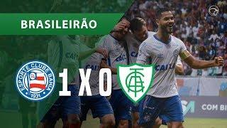 BAHIA 1 x 0 AMÉRICA-MG - GOL - 11/08 - BRASILEIRÃO 2018