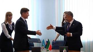 Минниханов и Кожемяко подписали соглашение о сотрудничестве между Татарстаном и Сахалинской областью