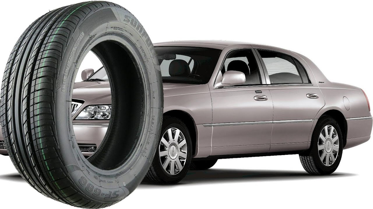 Stock Tire Size For All Lincoln Town Car 1998 2011 Youtube