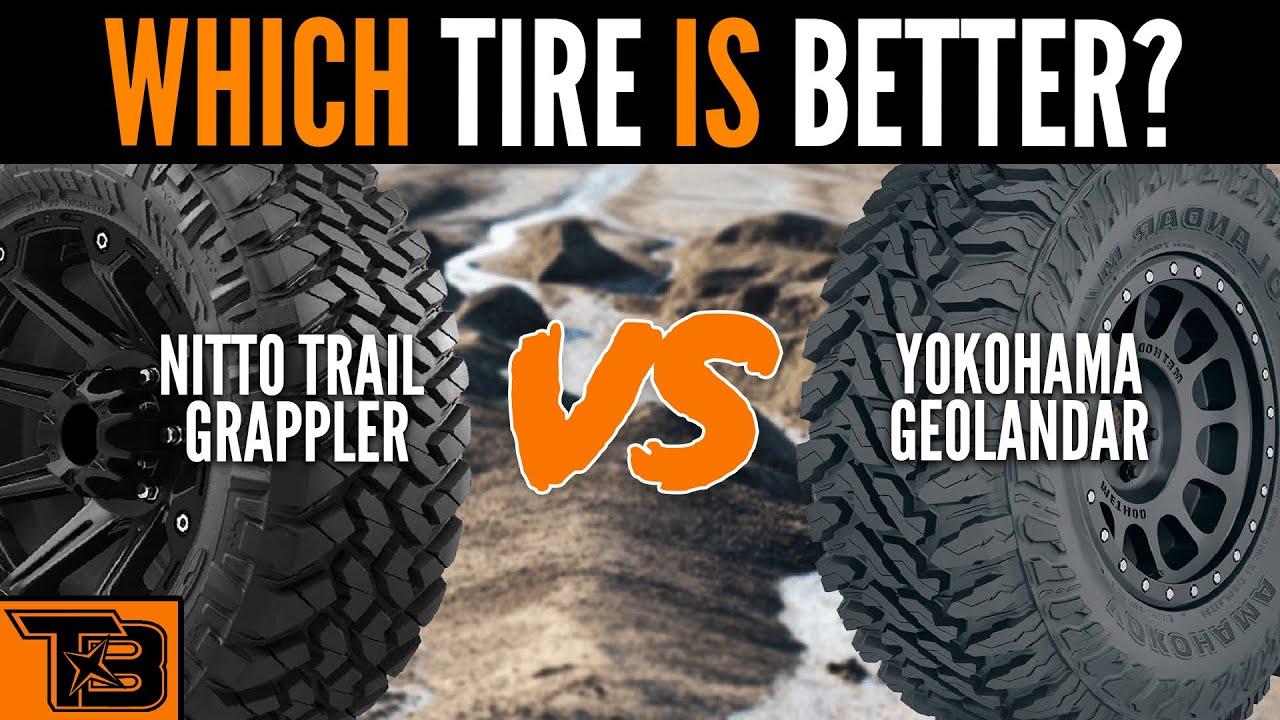 Nitto Trail Grappler vs Yokohama Geolandar