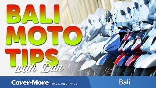 Bali Moto Tips | Cover-More Travel Insurance