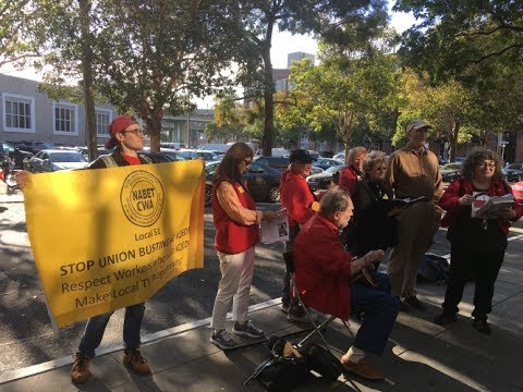 Stop Union Busting At KQED-CWA NABET 51 Members Under Attack