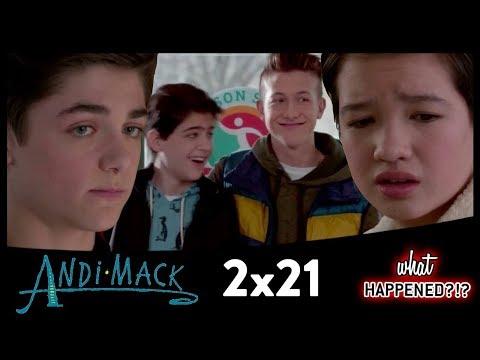 ANDI MACK 2x21 Recap: Andi's Surprise & TJ Helps Cyrus - 2x22 Promo