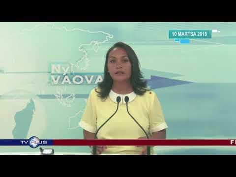 VAOVAO DU 10 MARS 2018 BY TV PLUS MADAGASCAR