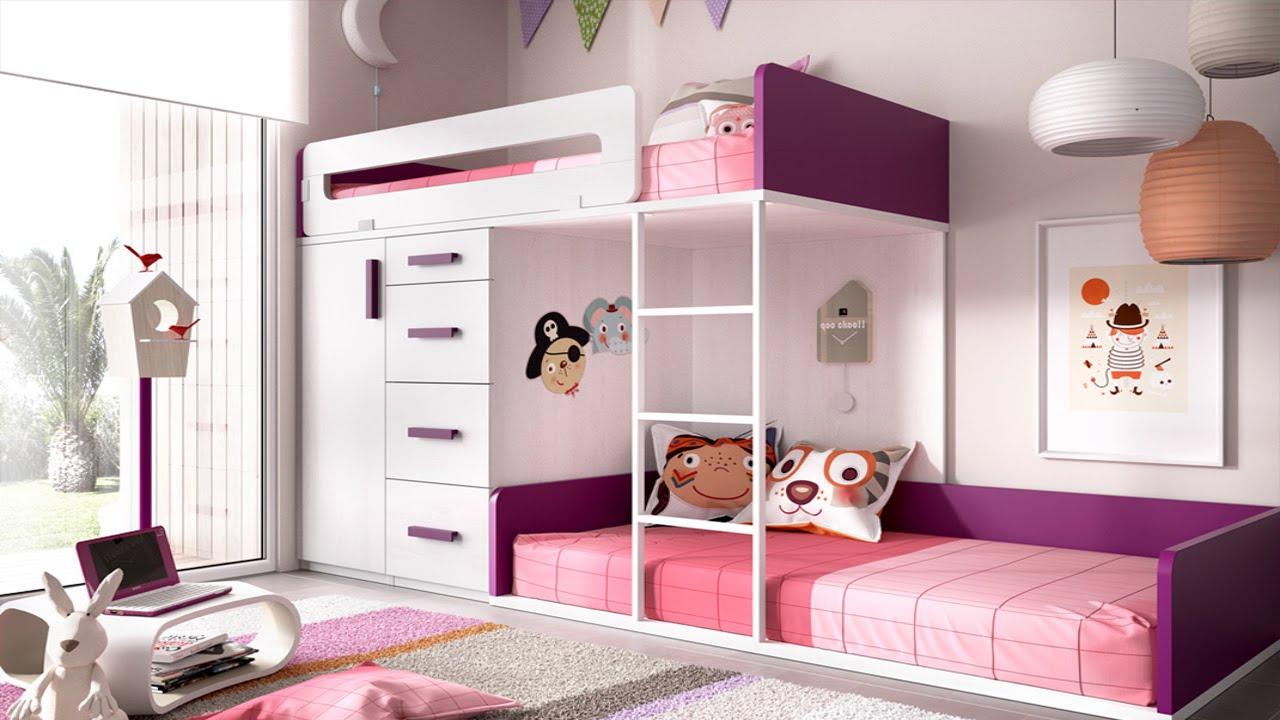 Dormitorios juveniles para Chicas adolescentes  Decorar el cuarto de las chicas  YouTube