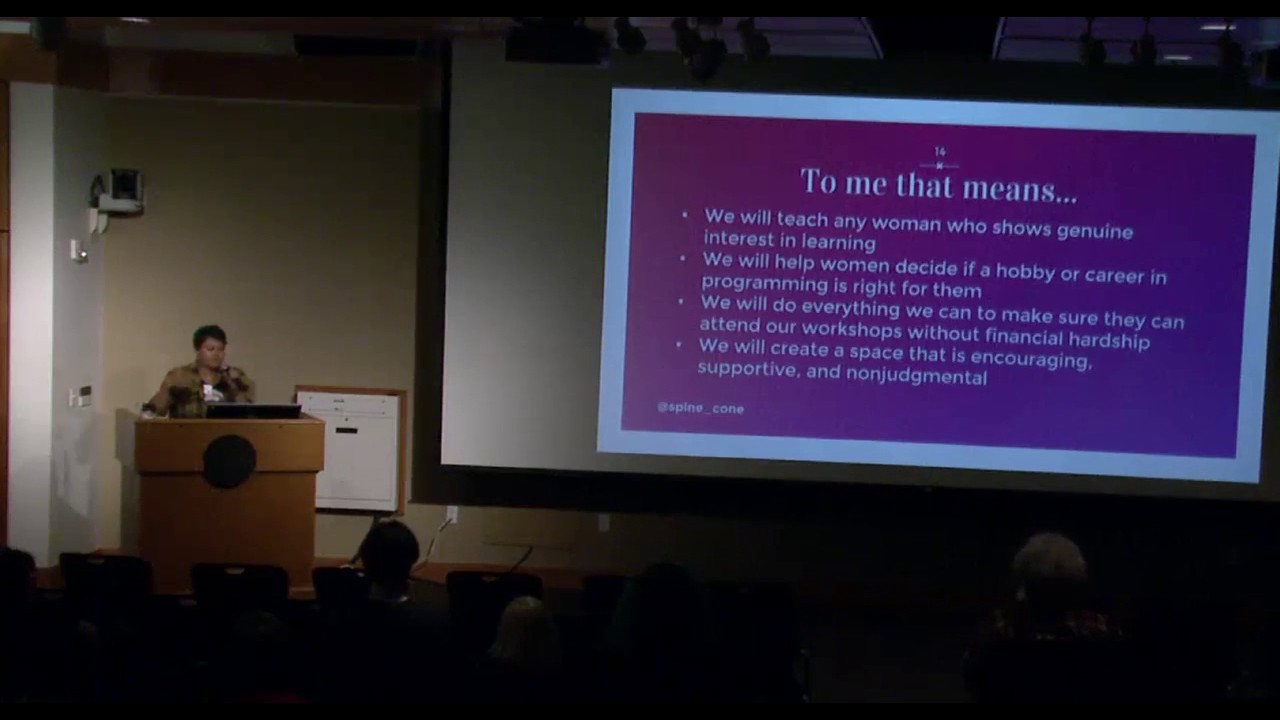 Image from Lessons From Teaching 100 Women How to Program