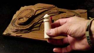 Lighthouse Cribbage Board Gets Lit!