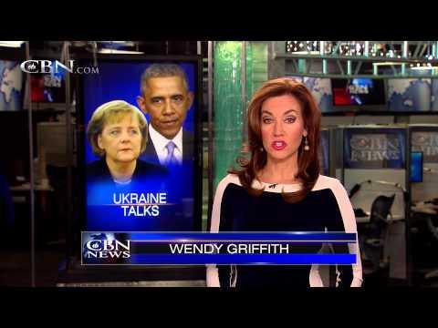 Obama, Merkel United on Solution to Ukraine
