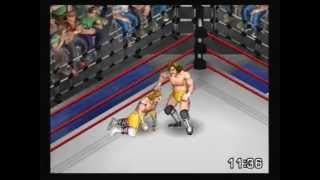 6/24/13 Shawn Michaels vs David Von Erich All-Time Fire Pro Wrestling Singles Match