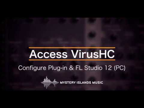 Access VirusHC AudioUnit & VSTi Librarian Editor Plug-in