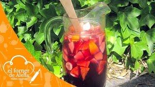 Sangria de Vino Tinto (Spanish Sangria)