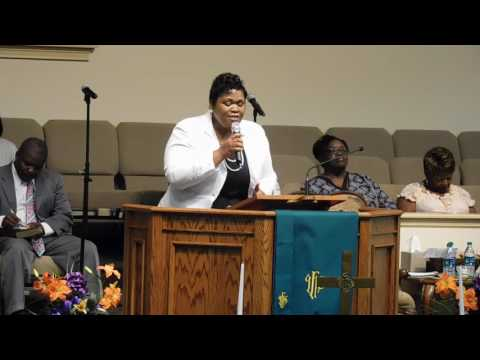 "Saint Paul AME Church – Macon, GA  Rev. Dianne Brown – ""A Second Touch"""